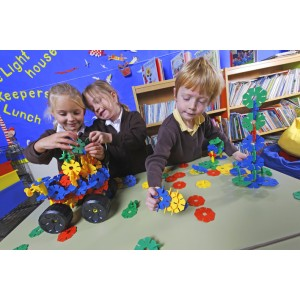 Polydron  – Octoplay žiacka sada (60 ks)